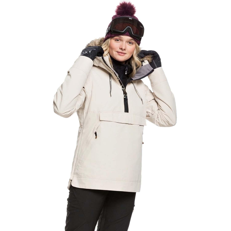 Roxy Shelter Jacket Oyster Gray 2020