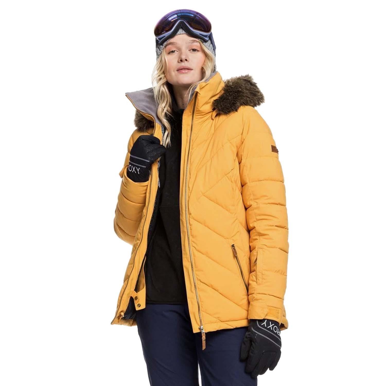 Roxy Quinn Jacket Spruce Yellow 2020