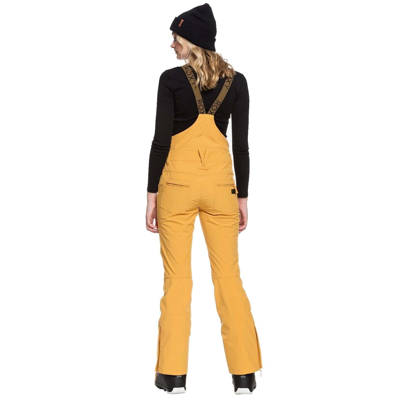 Roxy Torah Bright Summit Bib Pant Spruce Yellow 2020
