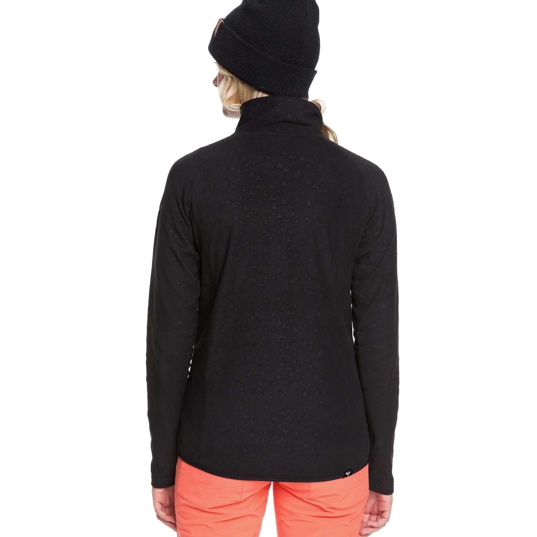 Roxy Cascade Rising Peak Embossed Fleece True Black 2020