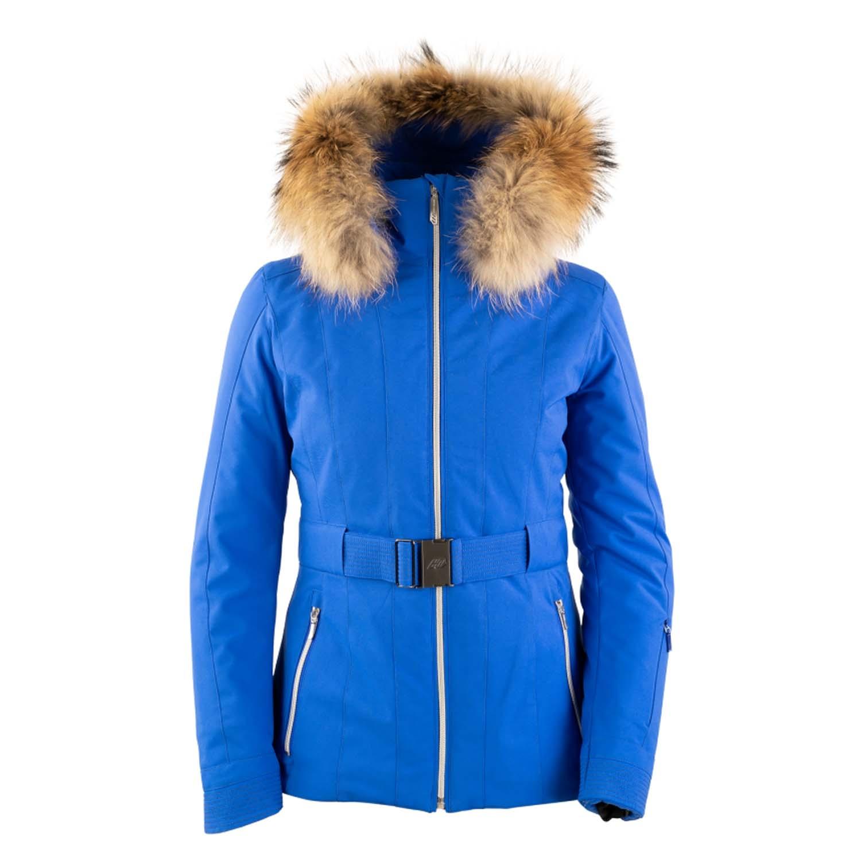 Henri Duvillard Meije Faux Fur Jacket Deep Blue 2020