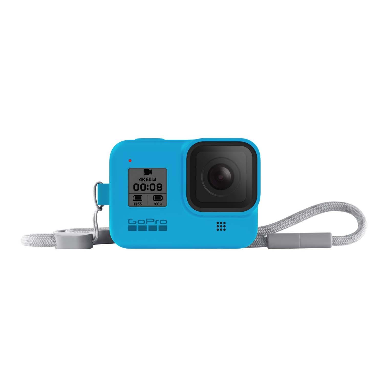 GoPro HERO 8 Sleeve and Lanyard Bluebird