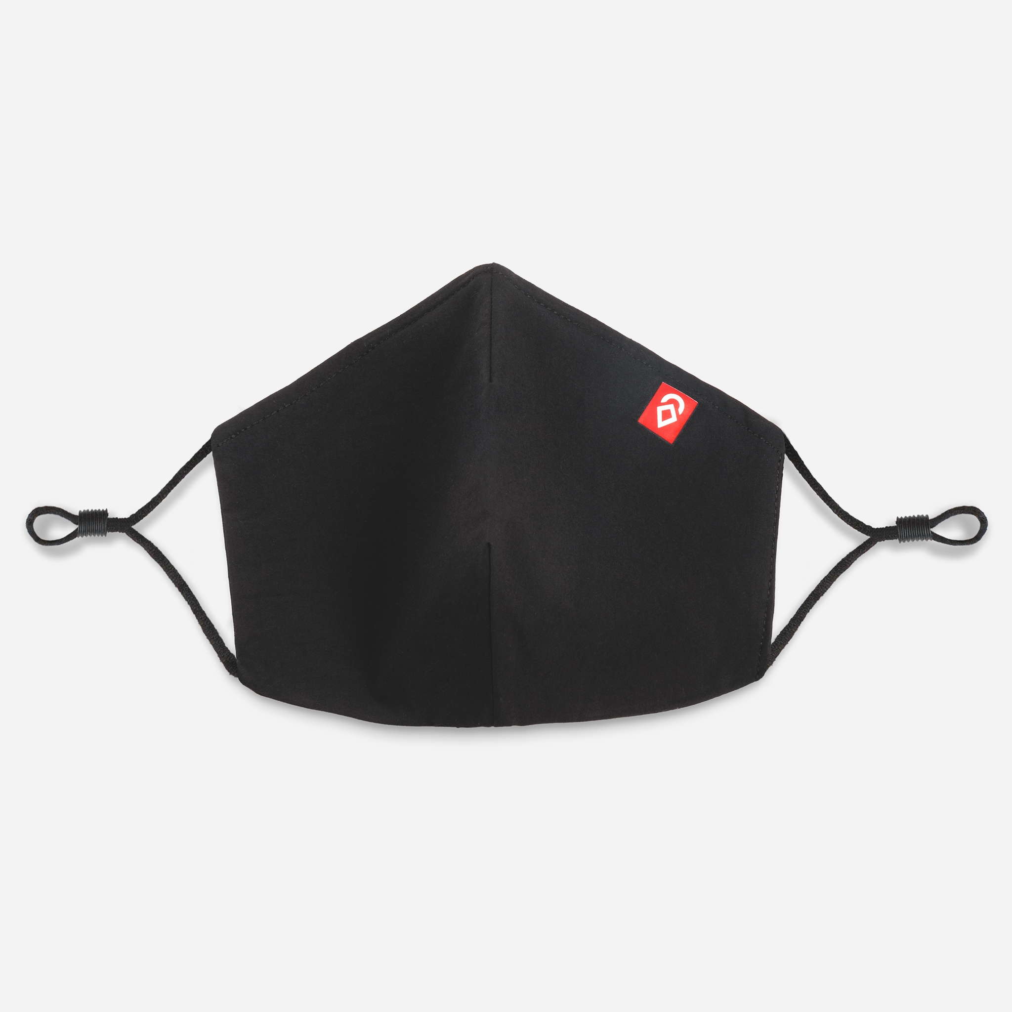 Airhole Ergo 3-Layer Facemask 5 Pack Black