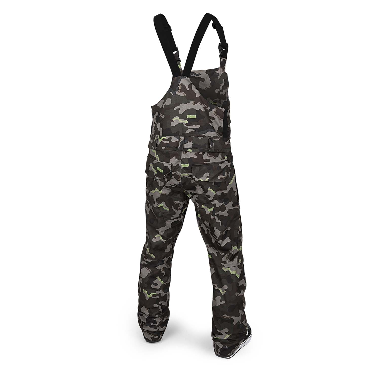 Volcom Roan Bib Overall Army Camo 2021