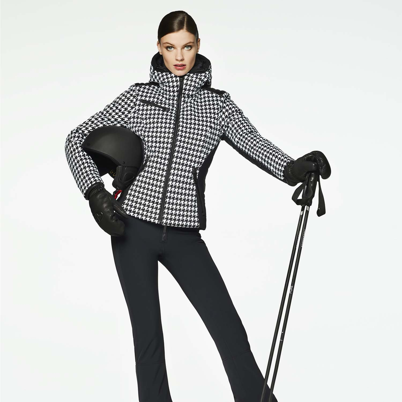 Goldbergh Kate Faux Fur Ski Jacket White 2021