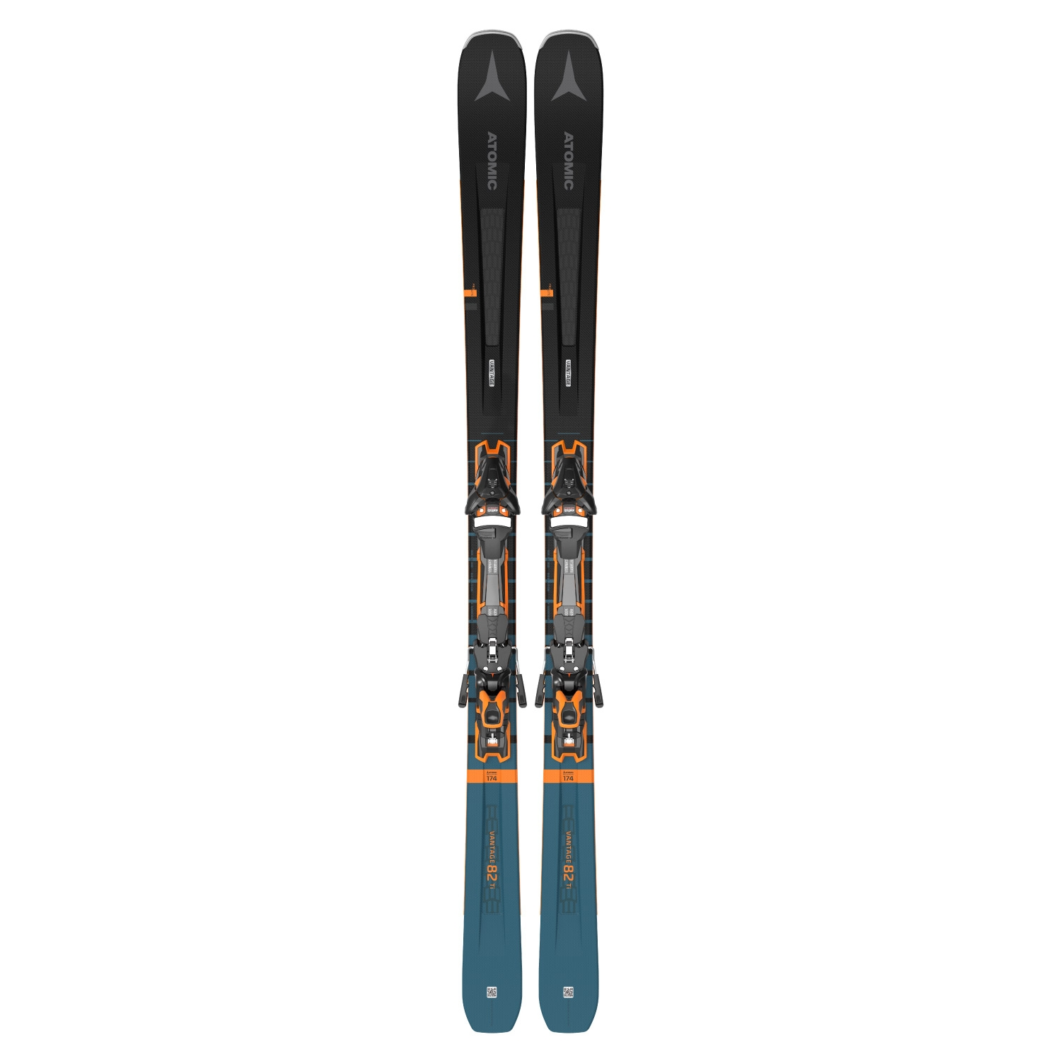 Atomic Vantage 82 Ti Skis with F12 GW Bindings 2021