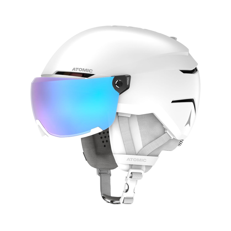 Atomic Savor Visor Stereo Helmet White Heather 2021