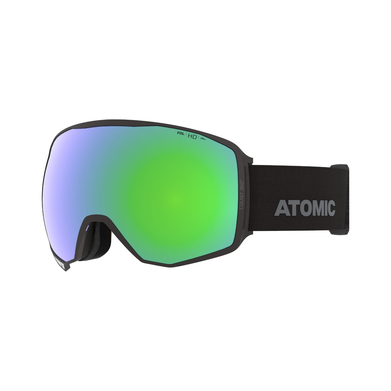 Atomic Count 360 HD Goggles Black 2021