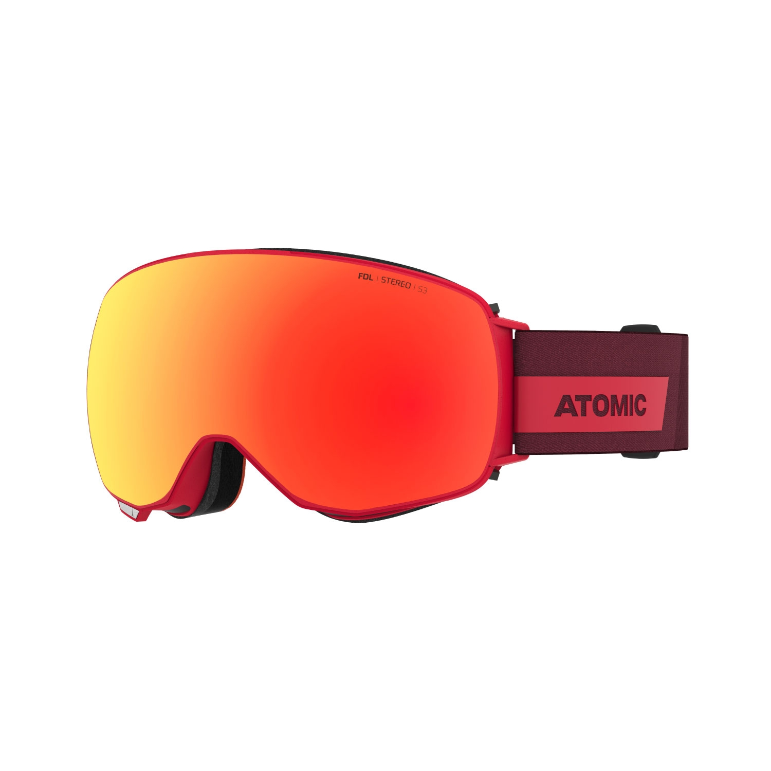 Atomic Revent Q Stereo Goggles Red 2021