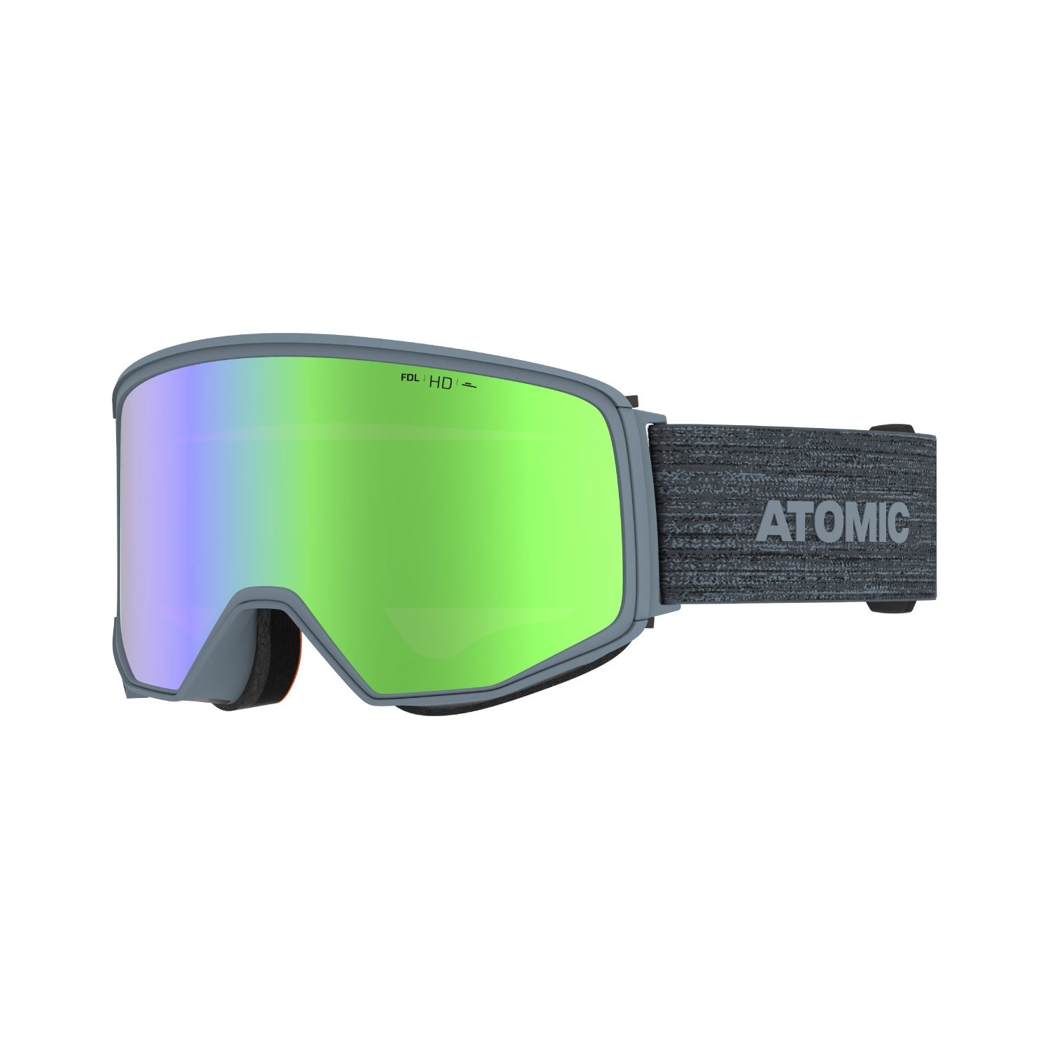 Atomic Four Q HD Goggles Grey 2021
