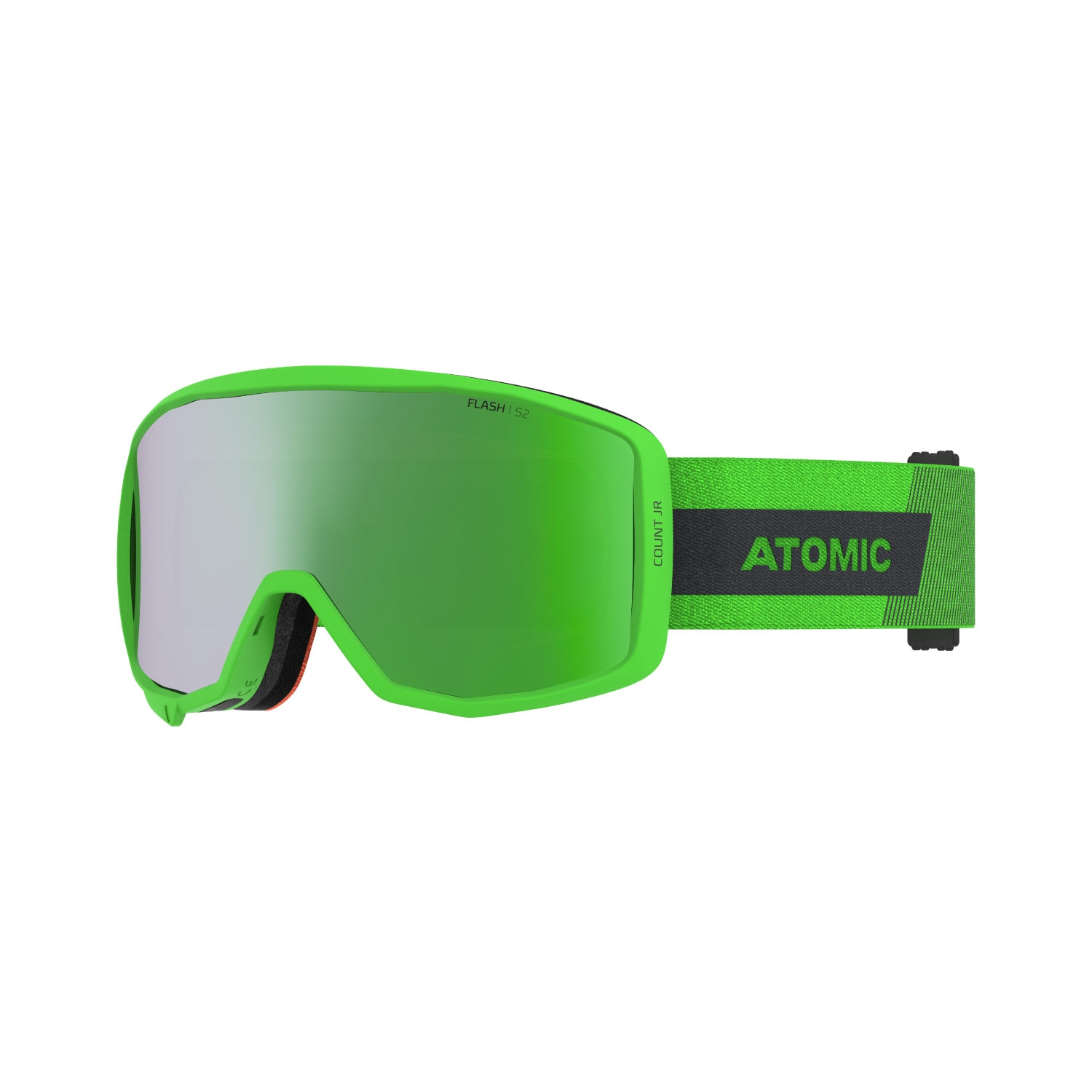 Atomic Count Junior Cylindrical Goggles Green 2021