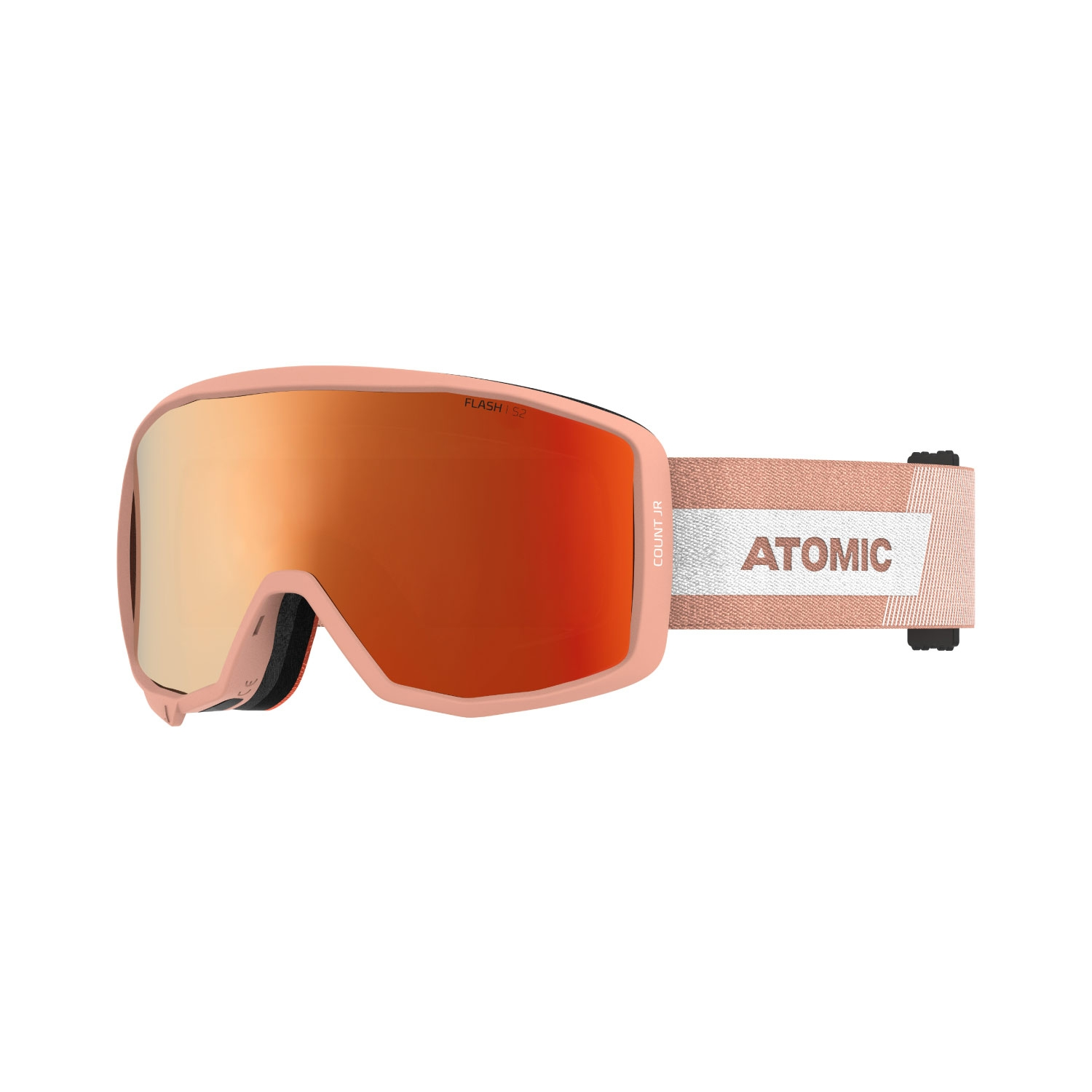 Atomic Count Junior Cylindrical Goggles Peach 2021