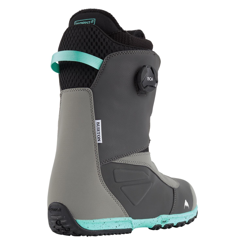 Burton Ruler BOA Snowboard Boots Grey/Teal 2021