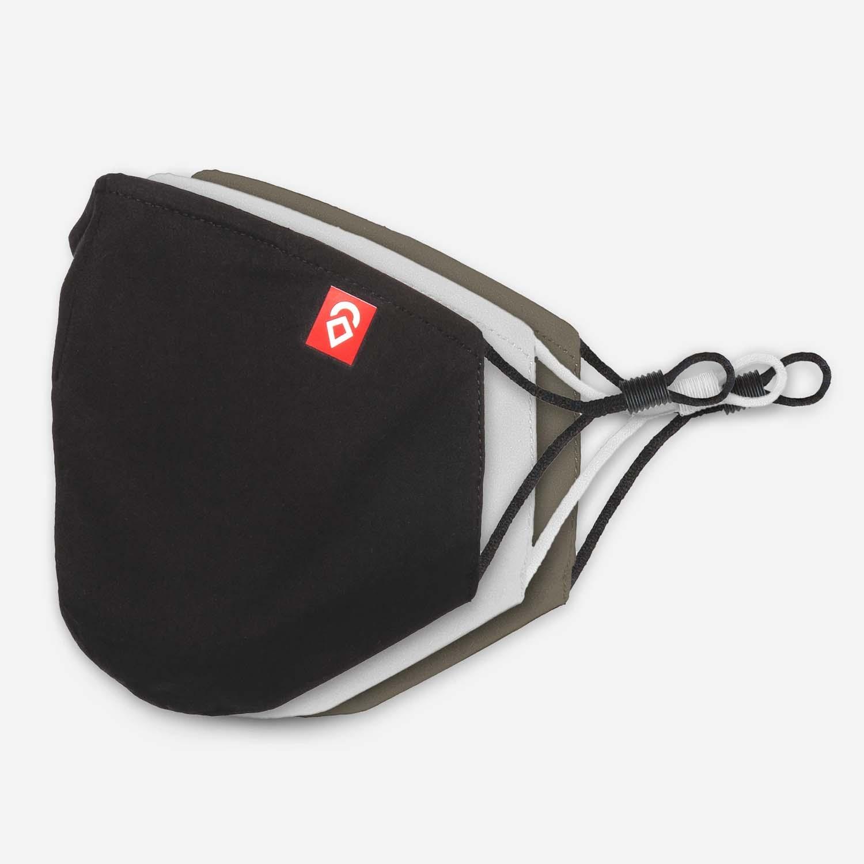 Airhole Ergo 3-Layer Facemasks 3 Pack Desert