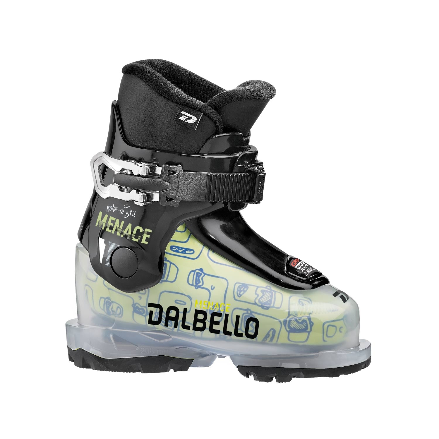 Dalbello Menace 1 0 Ski Boots Transparent/Black 2021