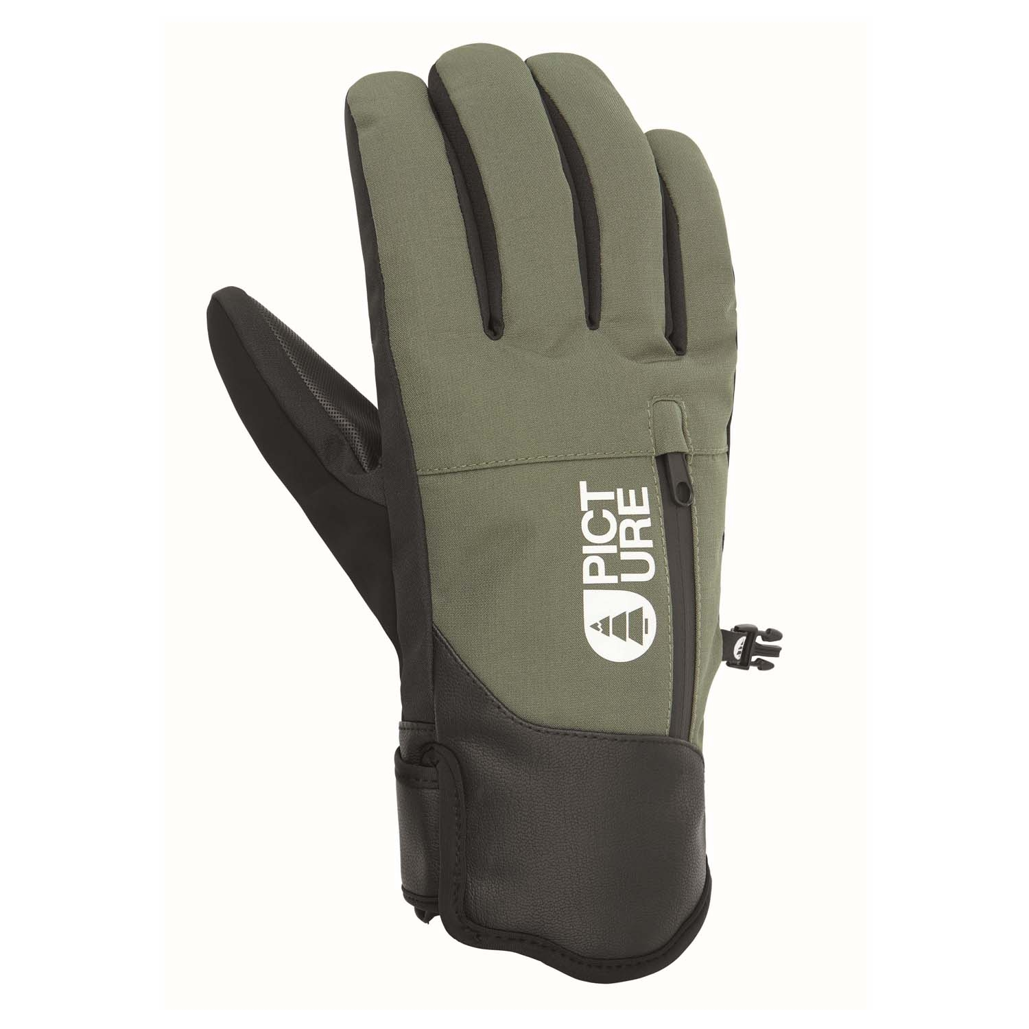 Picture Madson Gloves Lychen Green 2021