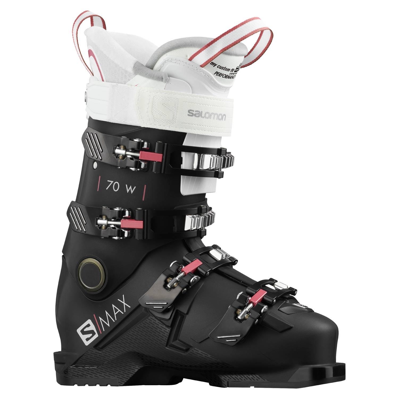Salomon S Max 70 W Ski Boots Black/White 2021