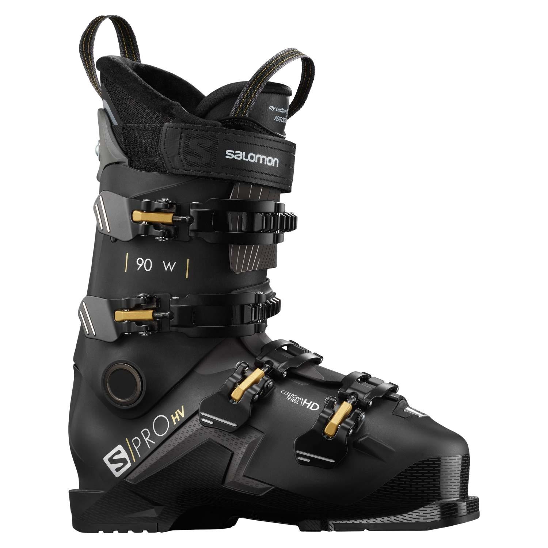 Salomon S Pro HV 90 W Ski Boots Black/Beluga 2021
