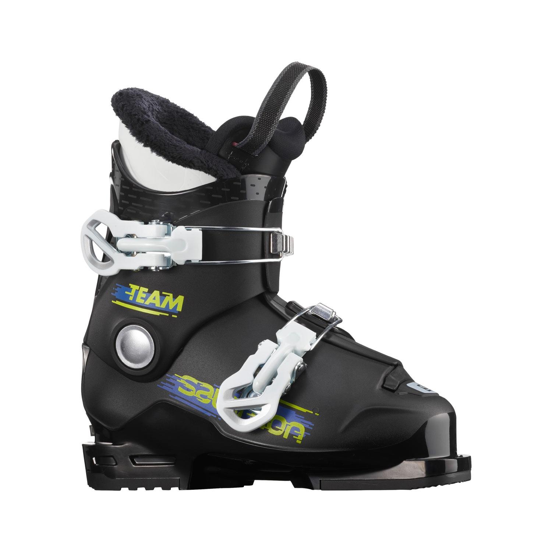 Salomon Team T2 Ski Boots Black/White 2021