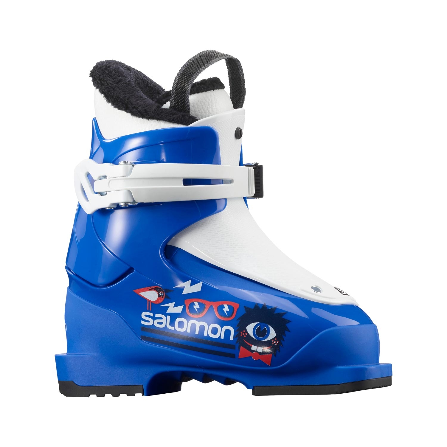 Salomon T1 Race Ski Boots Blue/White 2021