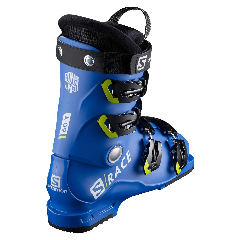 Salomon S Race 60T L Ski Boots Race Blue/Acid Green 2021