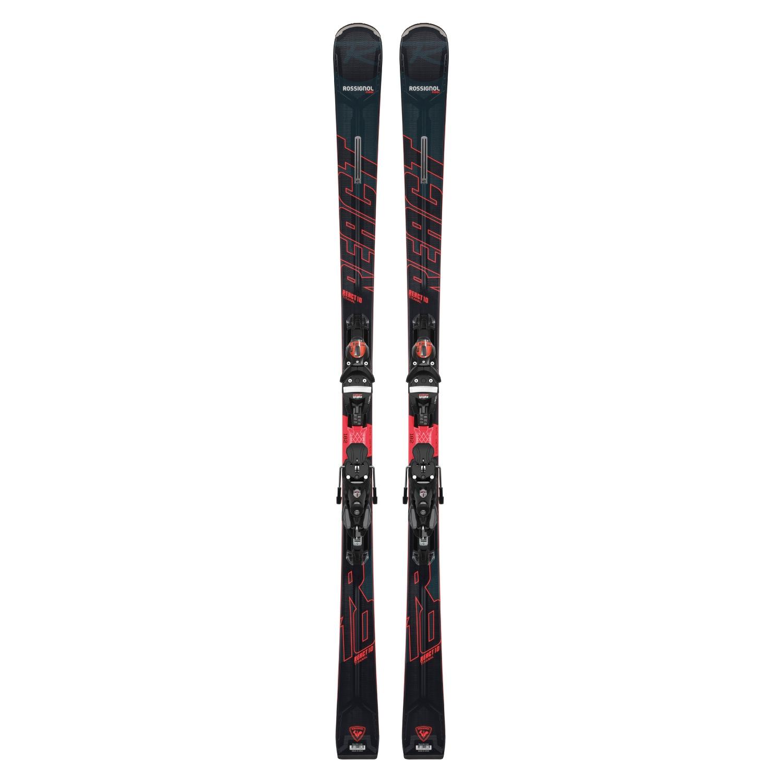Rossignol React 10 Ti Skis with SPX 12 Konect GW B80 Bindings 2021