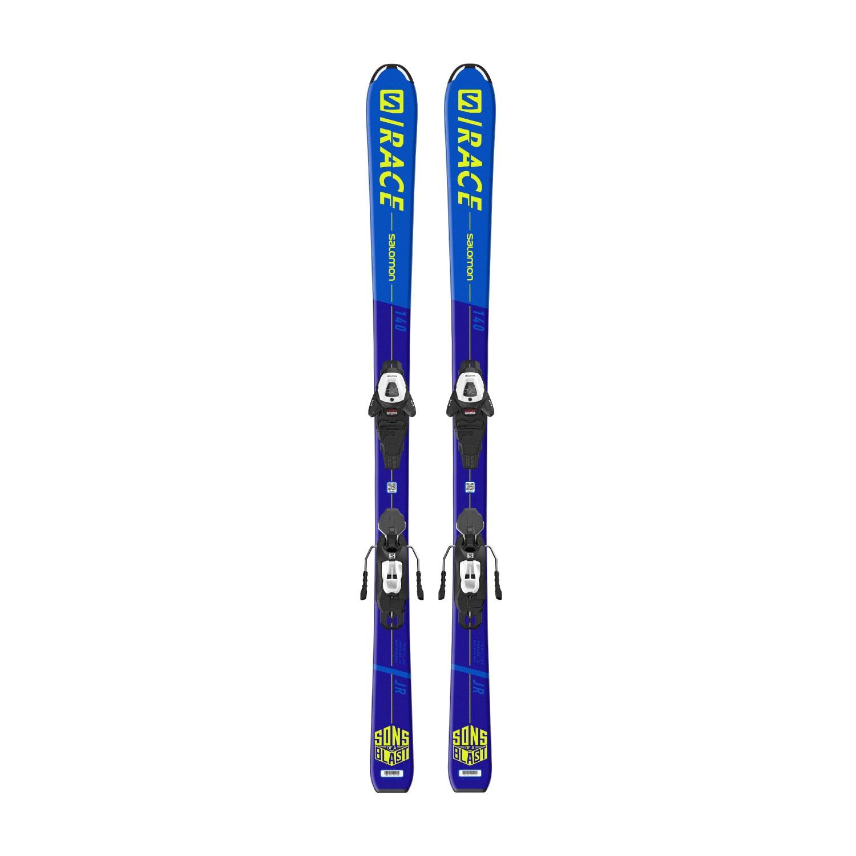 Salomon S Race Jr M Skis with L6 GW J2 80 Bindings 2021
