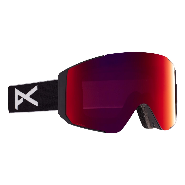 Anon Sync Goggles Black/Perceive Sun Red Lens 2021