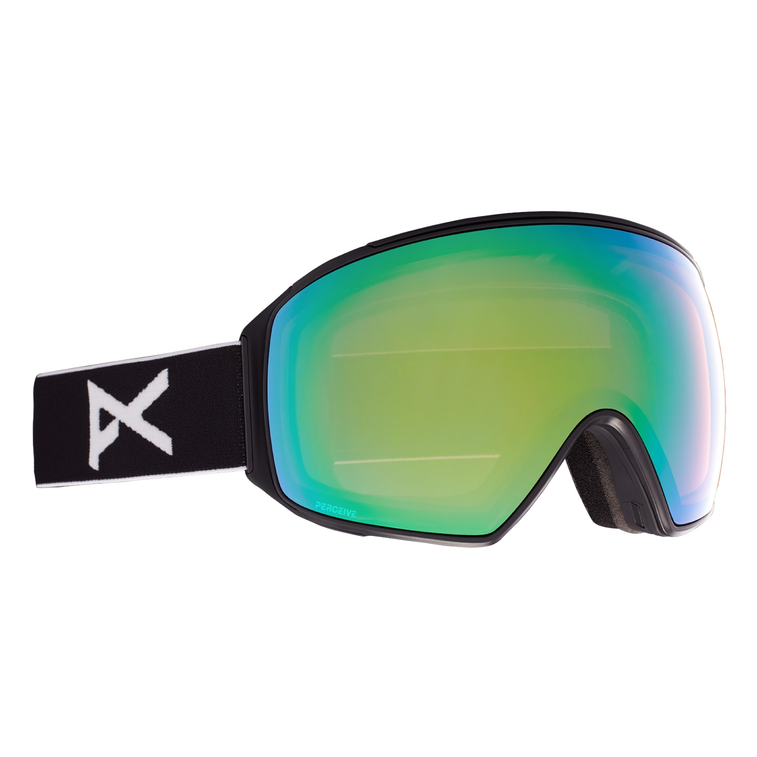 Anon M4 Goggles Toric Black/Perceive Variable Green Lens 2021