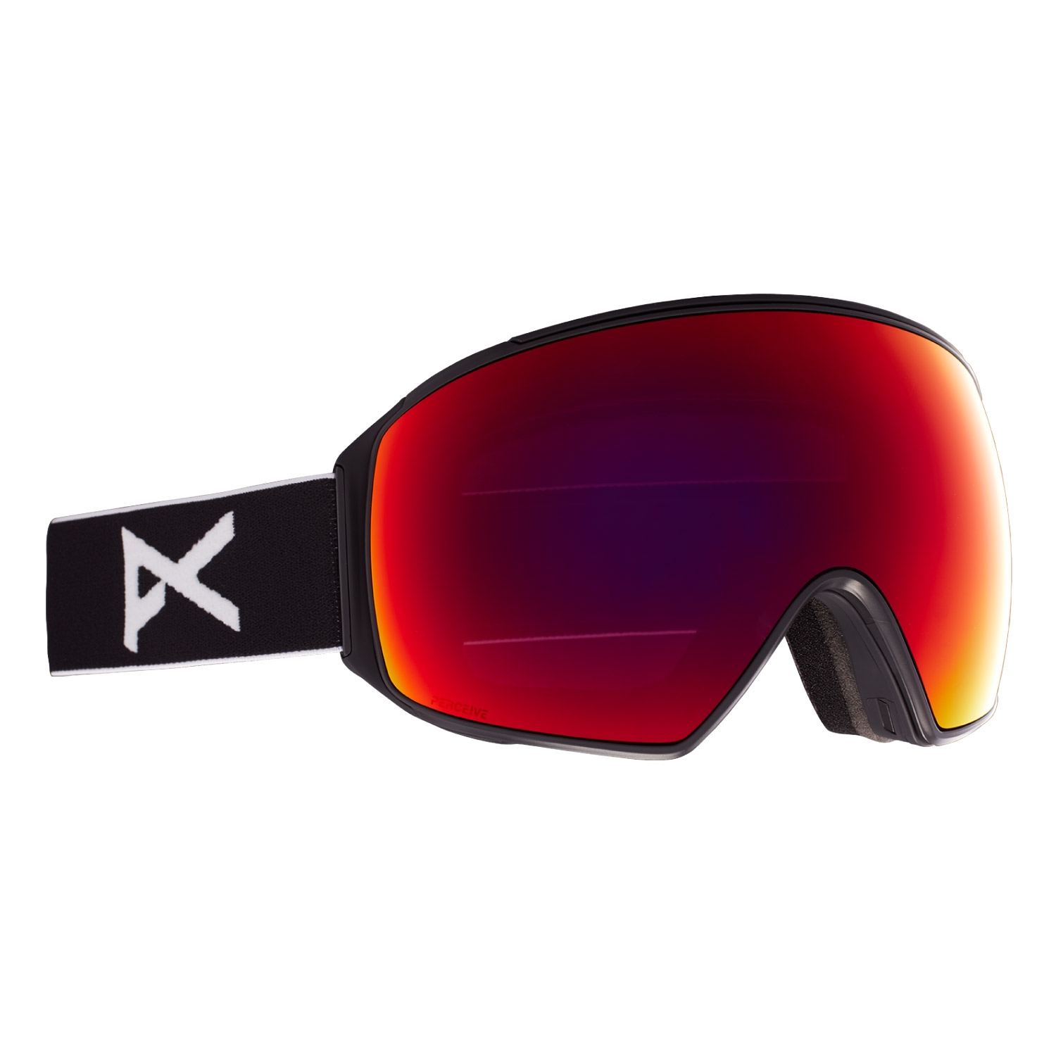 Anon M4 Goggles Toric Black/Perceive Sun Red Lens 2021