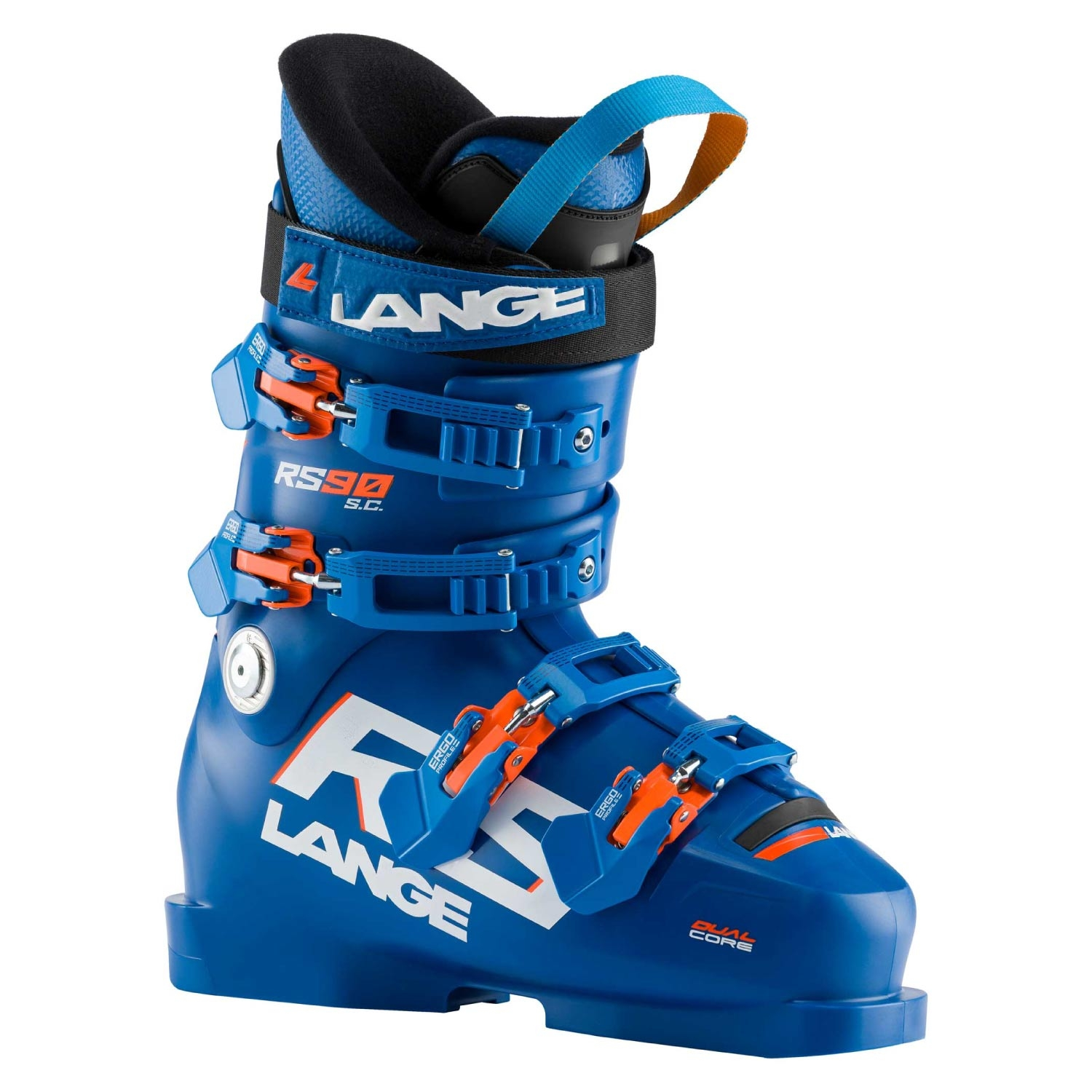 Lange RS 90 S C Ski Boots Power Blue 2021