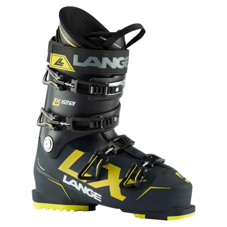 Lange LX 120 Ski Boots Deep Blue/Yellow 2021