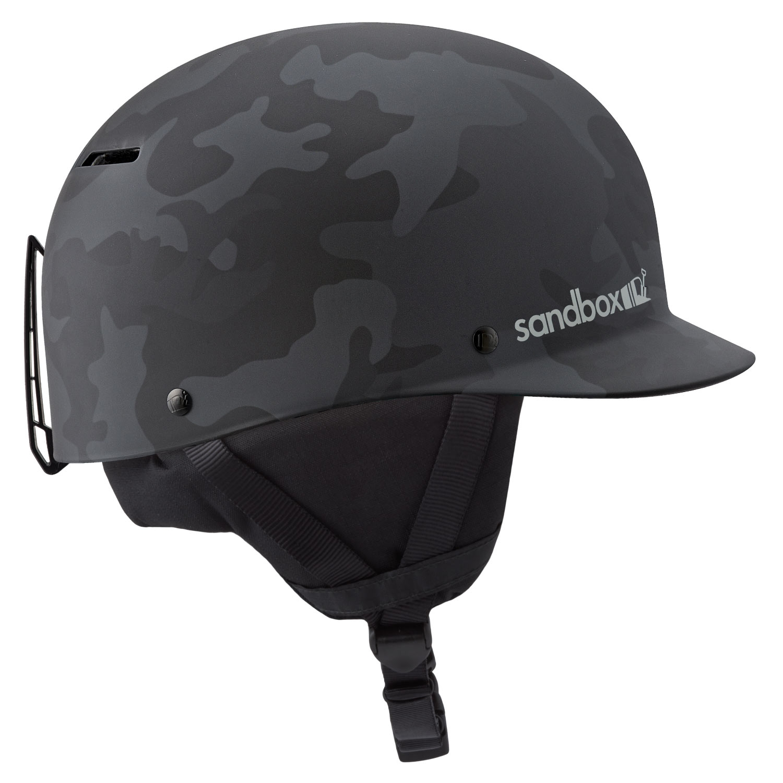 Sandbox Classic Snow Helmet Black Camo 2021