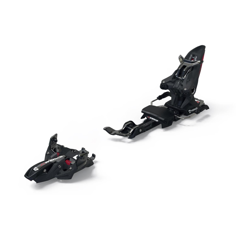 Marker Kingpin Mwerks 12 Ski Bindings Black/Red 2021
