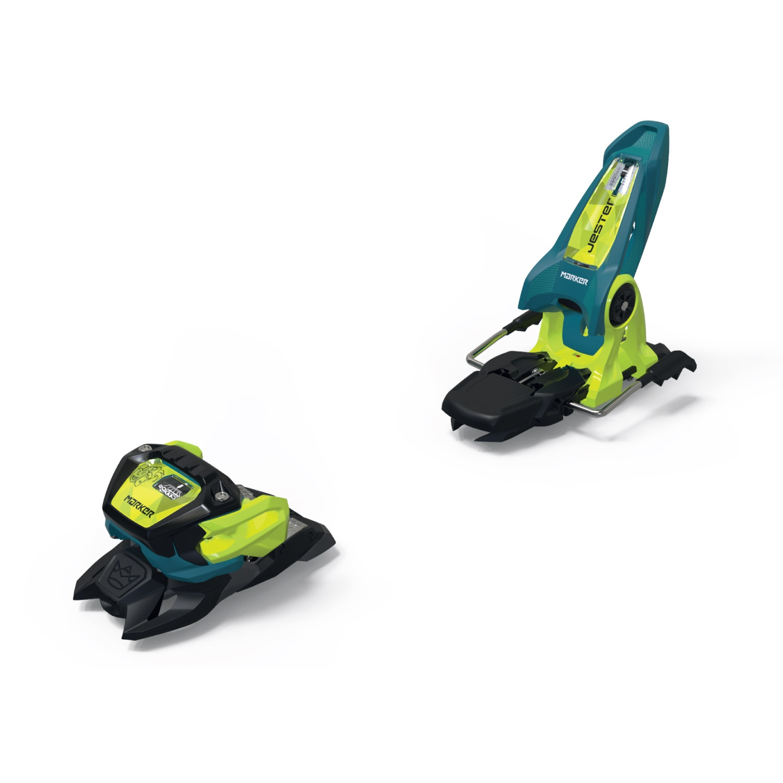 Marker Jester 18 Pro ID Ski BindingsTeal/Flo Yellow 2021