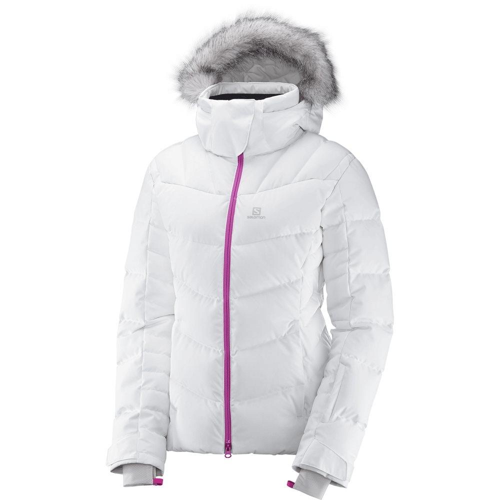 Salomon Icetown Womens Jacket White Heather 2018