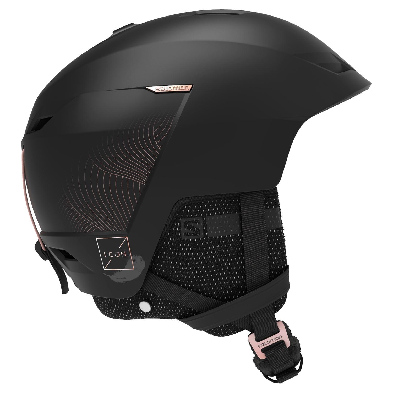 Salomon Icon LT CA Helmet Black 2021