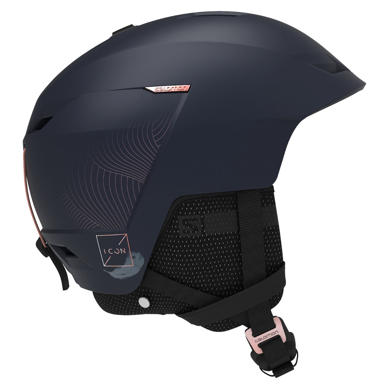 Salomon Icon LT CA Helmet Wisteria Navy 2021