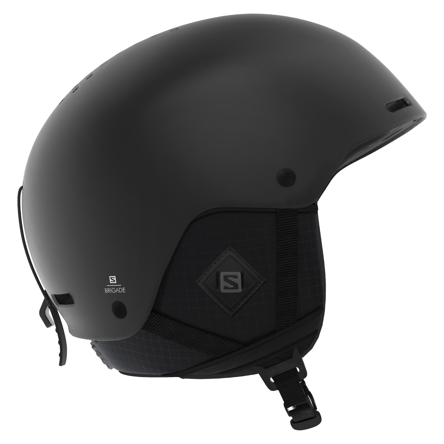 Salomon Brigade Plus Helmet All Black 2021