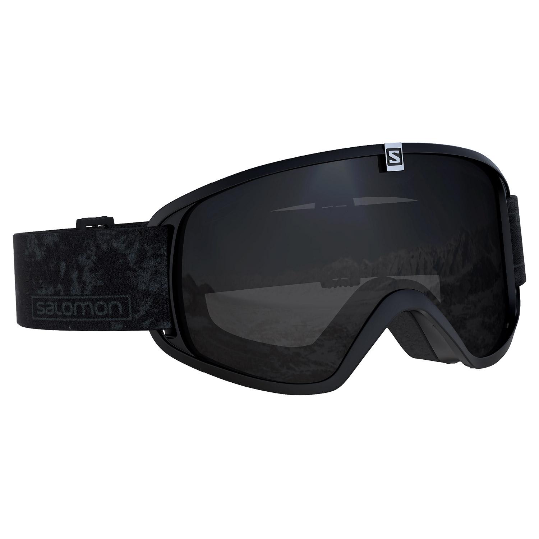 Salomon Trigger Goggles Black/Solar Black Lens 2021
