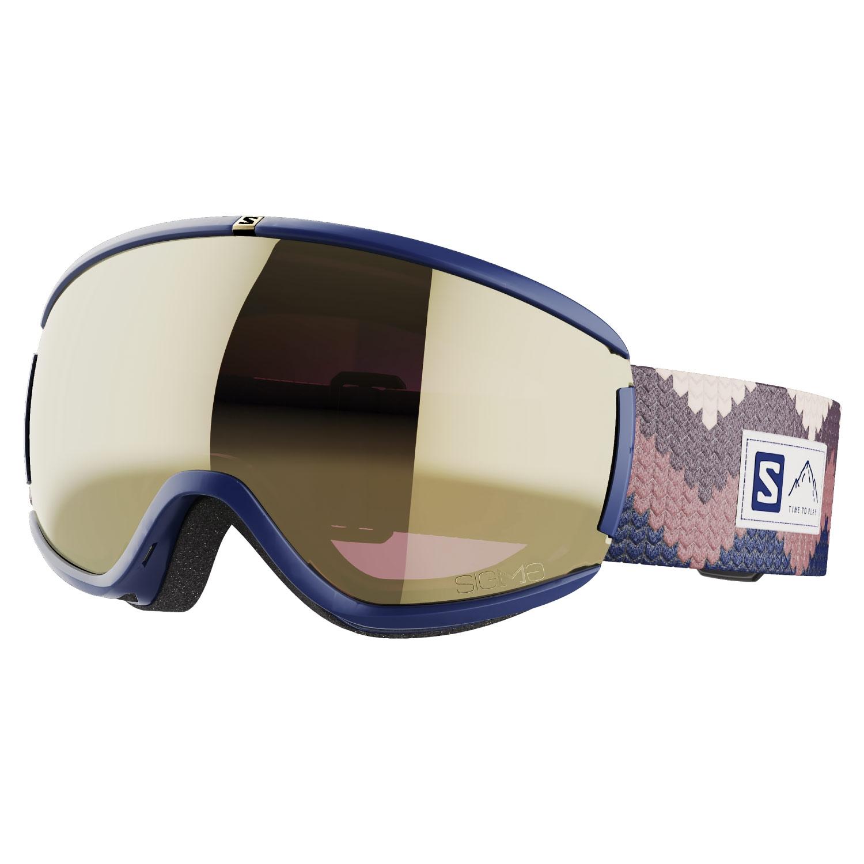 Salomon iVY Sigma Goggles Wisteria/Solar Black Gold Lens 2021