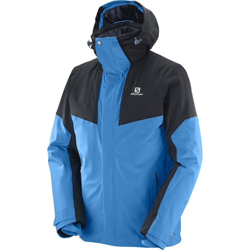 Salomon Icerocket Mens Jacket Hawaiian Surf / Black 2018
