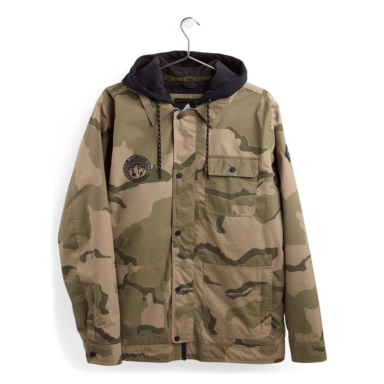 Burton Dunmore Jacket Barren Camo 2021