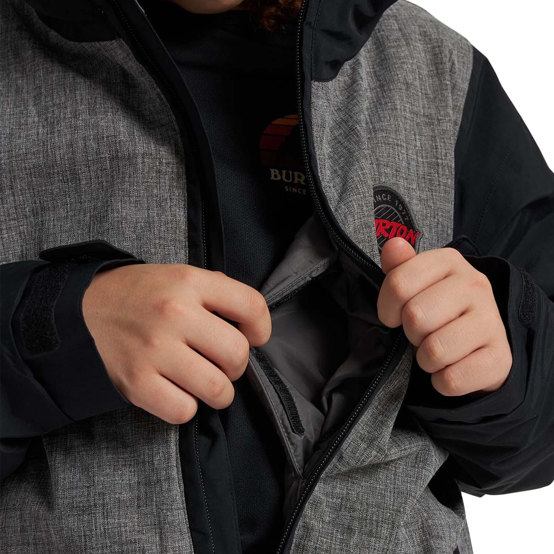 Burton Game Day Jacket Heather Bog/True Black 2021