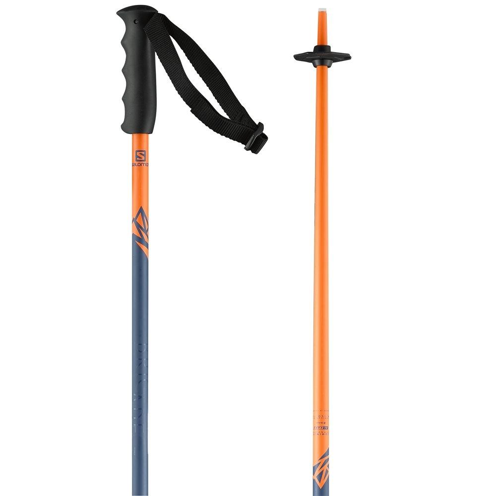 Salomon Brigade Jr Boy Ski Pole Orange/Blue 2018