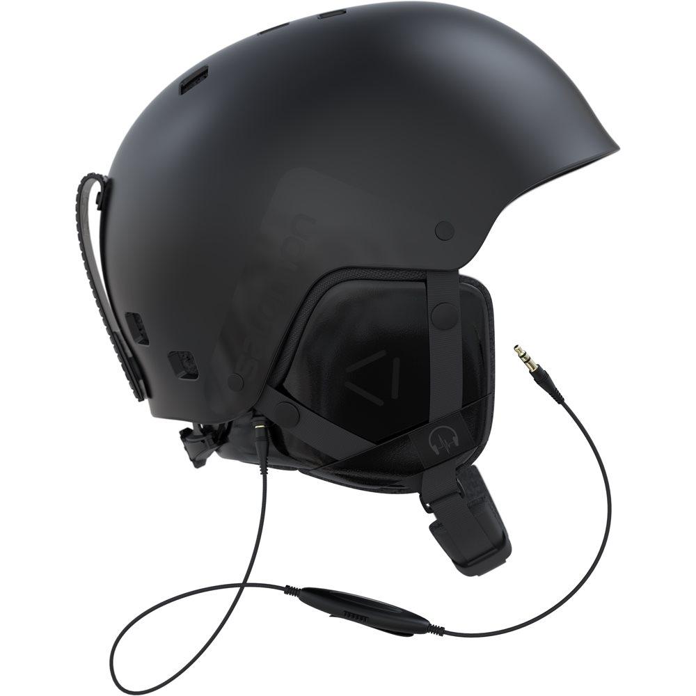 Salomon Brigade Audio Helmet Black 2018
