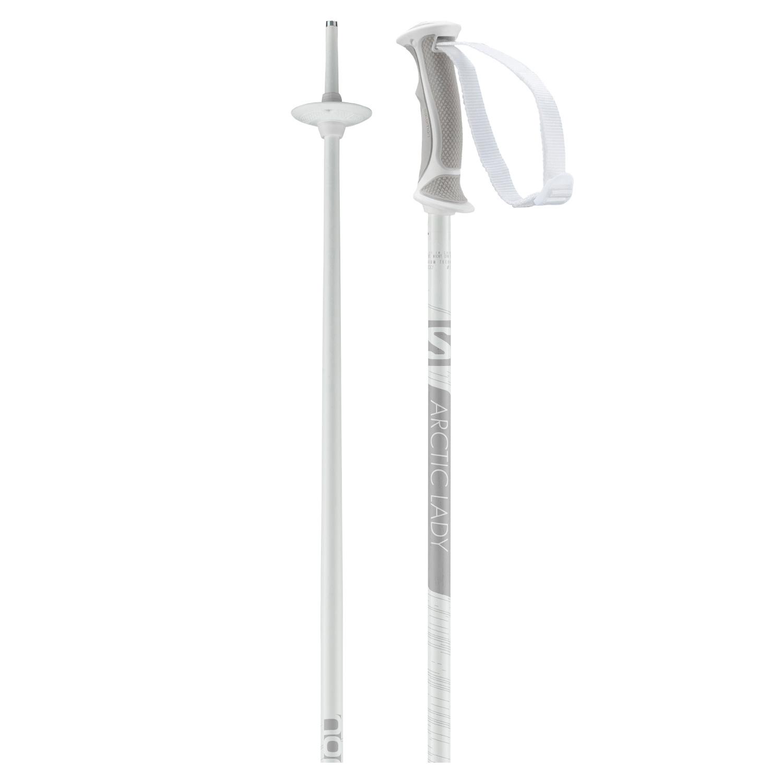 Salomon Arctic Lady Ski Poles White/Grey 2021