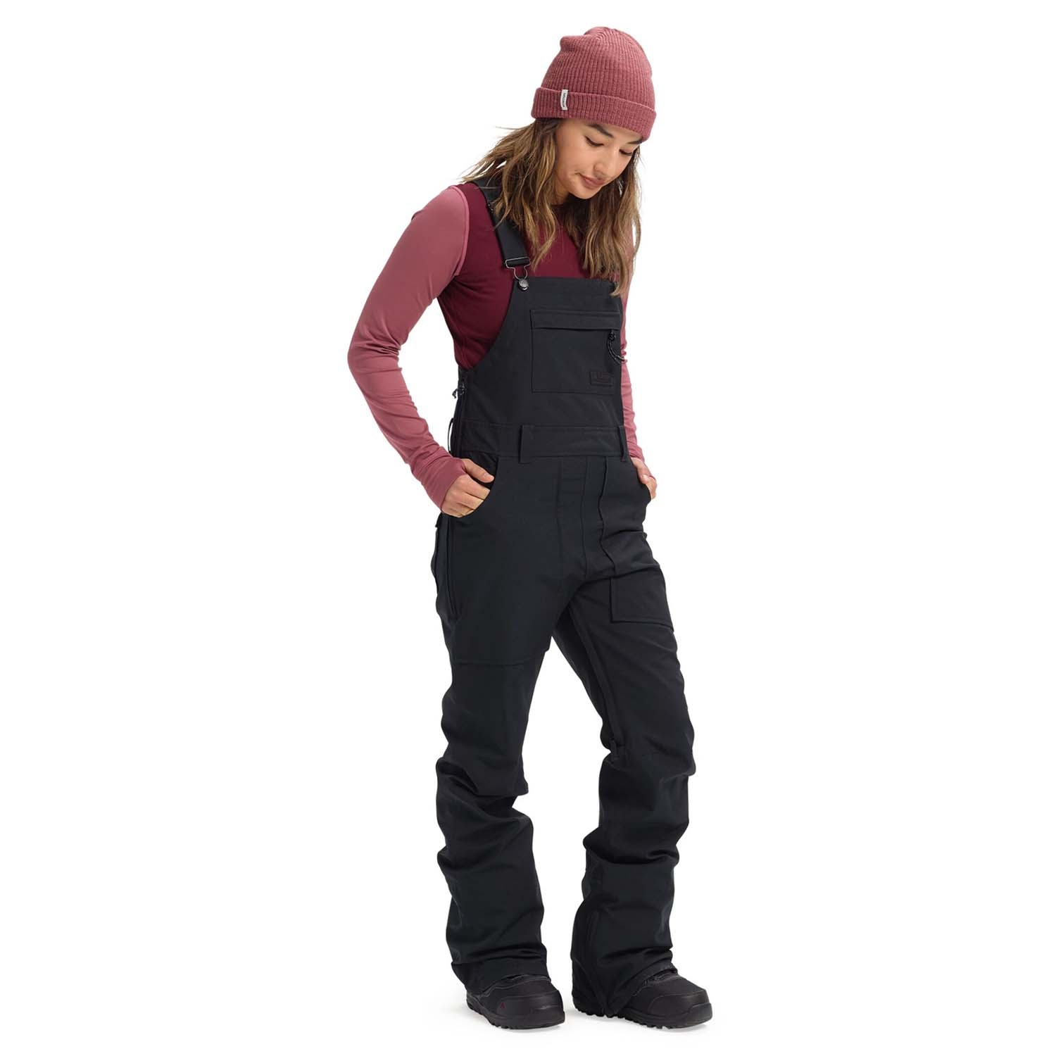 Burton Avalon Bib Pants True Black 2021