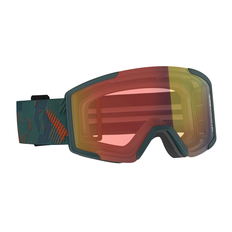 Scott Shield Goggles LS Sombre Green/Pumpkin Orange 2021