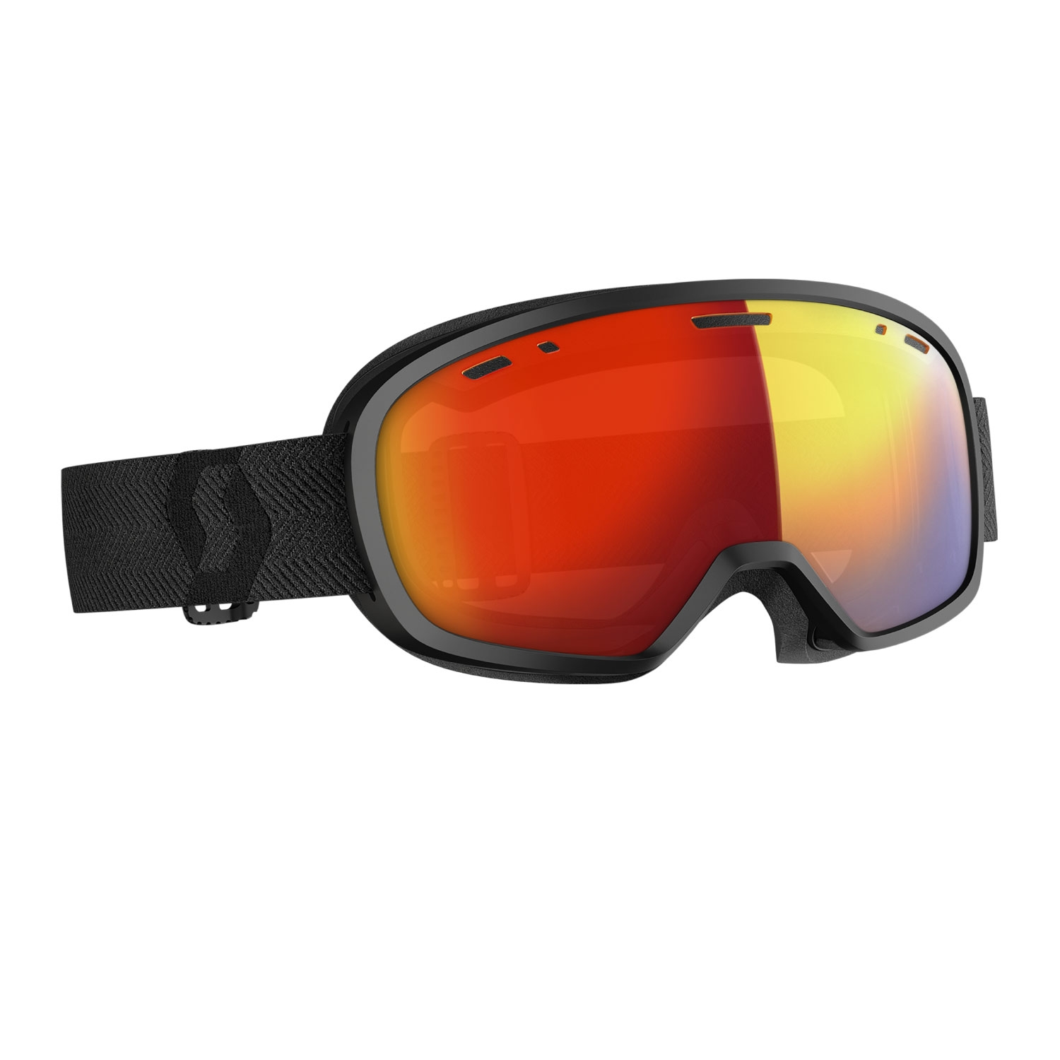 Scott Muse Pro LS Goggles Black/LS Red 2021